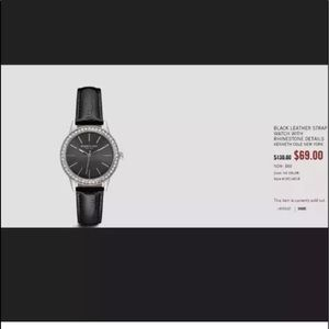 Kenneth Cole reaction bejeweled watch
